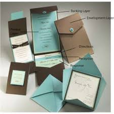 wedding invitation kits pocket wedding invitation kits marialonghi