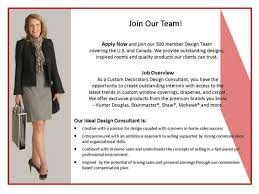 Interior Design Sales Jobs by Interior Design Consultant Job Posting