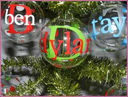 five fabulous finds handmade personalized christmas ornaments for