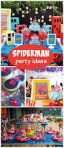 42 best spiderman bday party images on pinterest birthday party