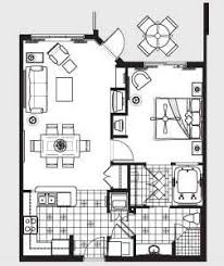 parc soleil orlando floor plans one bedroom floor plan for hilton grand vacations club on