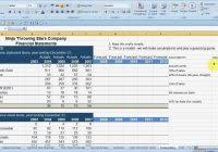 year end financial statement template ondy spreadsheet