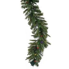 vickerman 25 x 18 garland with 300 clear