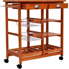 desserte de cuisine en bois à roulettes meubles rangement cuisine meuble du0027angle cuisine moderne et