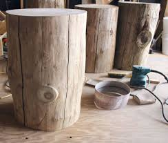 Tree Stump Side Table Diy Tree Stump Side Table Tree Stump Side Table Tree Stump And