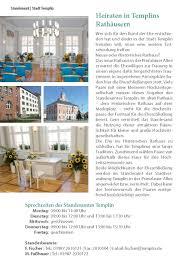 Standesamt Bad Oeynhausen Standesamt Templin Jpg