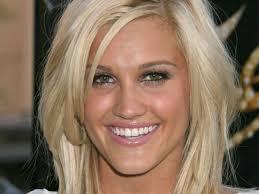 giving casual girly look this choppy blonde blunt haircut medium