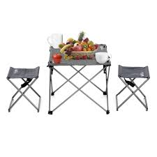 lightweight folding table and chairs outdoor foldable cing picnic tables portable compact lightweight