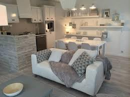 m6 deco cuisine ferjani un salon revisité en gris et blanc au style