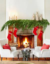 christmas christmasration ideas holiday fireplace for