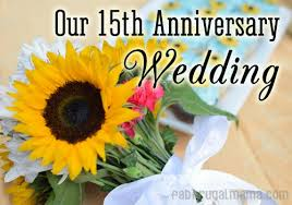15 wedding anniversary our 15th anniversary wedding nikonmoments part 2 fab frugal