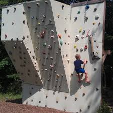 ben u0027s backyard climbing wall