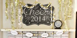 New Year Decoration Ideas 2013 by New Years Decor Ideas And A Free Printable Banner Classy Clutter