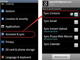 contact sync android easy ways to sync gmail contacts with android