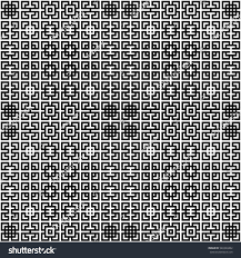 seamless chinese window tracery pattern repeated stock vector