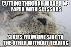 Wrapping Presents Meme - after wrapping all of my christmas presents i have to say this is