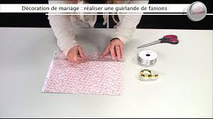 guirlande fanion mariage décoration de mariage créer une guirlande de fanions déco