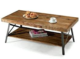 42 inch coffee table reclaimed wood and metal coffee table s alaterre pomona reclaimed