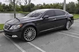 2007 lexus ls 460 luxury package 2007 lexus ls460l with luxury package 22 wheels tires used