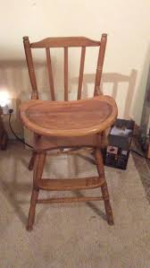 Antique Wood High Chair New And Used Antiques For Sale In Albuquerque Nm Offerup