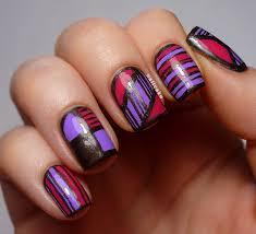 simple line nail art emsilog 25 simple nail art tutorials for