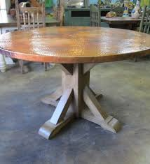 Copper Dining Room Tables by 23 Best Copper Finish Images On Pinterest Copper Dining Tables