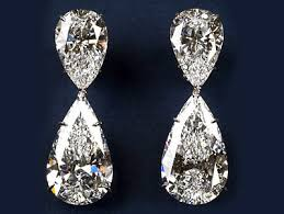 dimond drop world s most expensive earrings harry winston diamond and drop