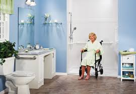 consider when designing an accessible bathroom for wheelchair