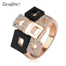 aliexpress buy beagloer new arrival ring gold aliexpress buy beagloer new fashionable rings unique