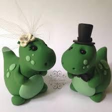 dinosaur wedding cake topper decor dinosaur wedding cake topper handmade 2450151 weddbook