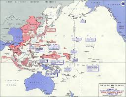 Map Of Pacific World War 2 Pacific Theater Maps Audio Video Documents And