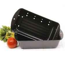 norpro 4672 nonstick 2pc meatloaf meat bread pound cake pan with