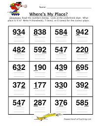 place value worksheet place value worksheet place value puzzle 2