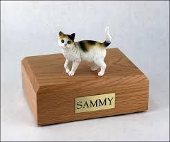 cat cremation cat cremation figurine urns