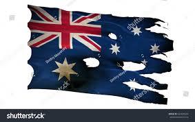 Aussie Flag Australia Au Australian Aussie Flag Bullet Stock Illustration