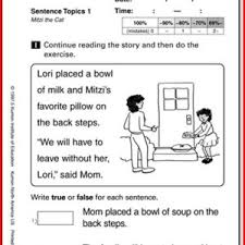 pre k reading worksheets worksheets