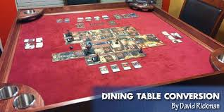expandable game table coolest diy gaming tables webb pickersgill