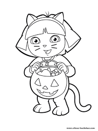 dessin ã colorier halloween anglais