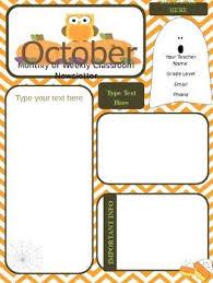 best 25 monthly newsletter template ideas on pinterest