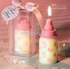 unique baby shower favors 2018 unique baby shower favors feeding bottle shaped candle favors