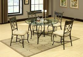 furniture exquisite metal dining room tables shopzilla wrought