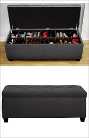Bedroom Bench With Back Bedrooms Marvellous End Of Bed Storage Upholstered Bench With