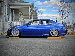 lexus is300 blue thinking about bc racing coilovers lexus is forum