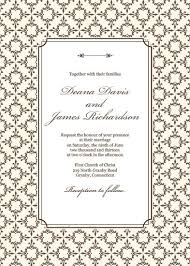 wedding invite templates 210 best wedding invitation templates free images on