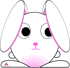 cute bunny drawing clipart free clipart design download