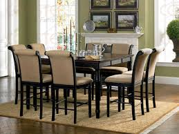 Delightful Decoration Tall Dining Room Sets Dining Room Amazing - Dining room table sets counter height