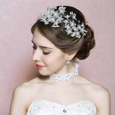 headdress for wedding white headdress wedding bridal headband rhinestone headpiece