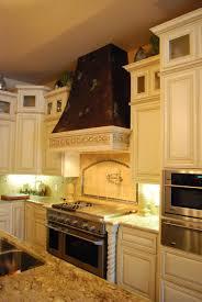 custom copper range hood and frieze by ck valenti designs inc