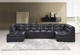 Sectional Sofa Black Black Modular Sectional Sofa 9148 Best Master