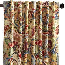 Curtain Stores In Ct Vibrant Paisley Back Tab Curtain Pier 1 Imports